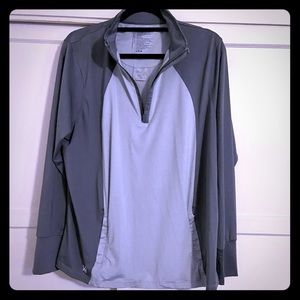 Women's HEATHER GREY (Matte Grey) pullover XXL